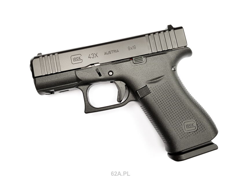 Glock 43X Rail Black